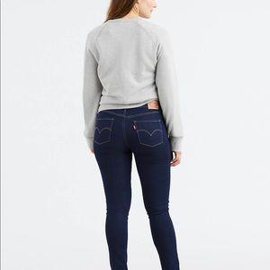 Levi's 311 shaping skinny jeans dark rinse
